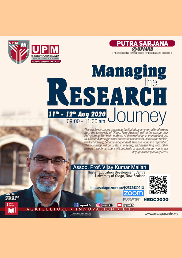 Managing the Research Journey